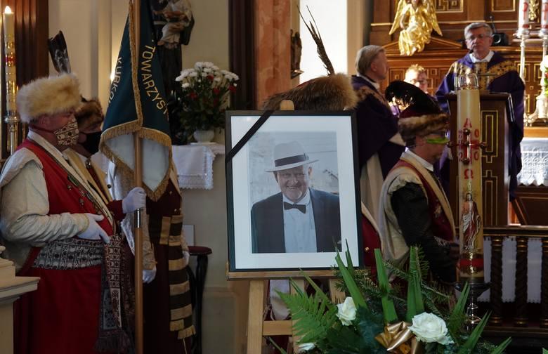 Pożegnanie Jarosława Marchwickiego, menedżera branży nieruchomościowej, byłego marszałka Bractwa Kurkowego