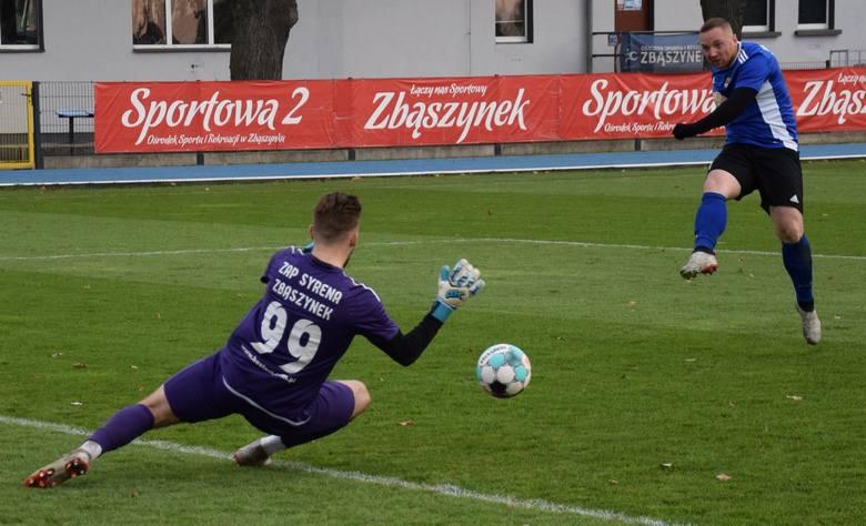 21 listopada 2020. IV liga: ZAP Syrena Zbąszynek - Arka Nowa Sól 2:3 (1:0)