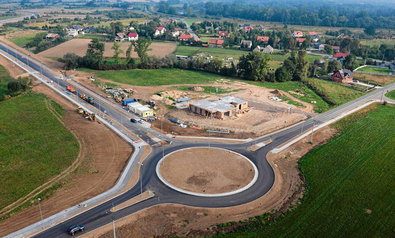 W strefie Brzegi powstają m.in. nowe drogi oraz ośrodek Misericordiae (m.in. dla osób niepełnosprawnych)