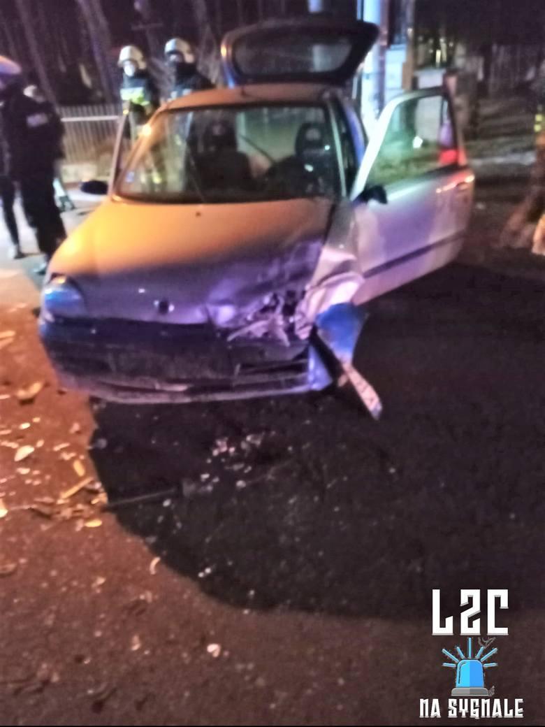 Na drodze wojewódzkiej nr 774 w Cholerzynie w gminie Liszki zderzyły sie dwa pojazdy. Droga została zablokowana