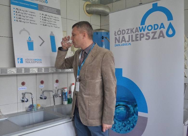 ZWiK chce, by we wszystkich domach w Łodzi z kranów mogła płynąć także woda gazowana.