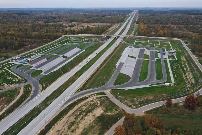 MOP-y przy autostradzie A1. Na zdjęciu MOP Starcza Wschód i Starcza Zachód. Będą to obiekty, na których kierowcy będą mogli się zatrzymać i odpocząć,