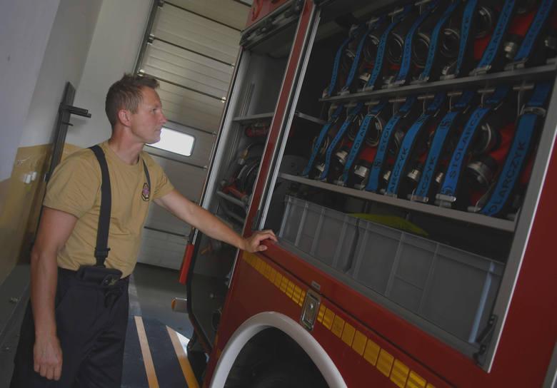 Strażacy ochotnicy z Kostrzyna mają już nowy samochód.