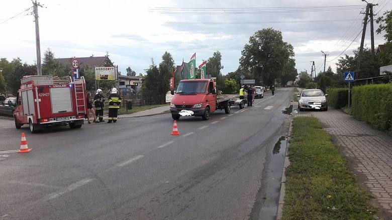 W Unisławiu kierujący dostawczym mercedesem sprinterem potrącił 68-letniego mężczyznę, który- jak wynika ze wstępnych ustaleń - wtargnął na jezdnię.