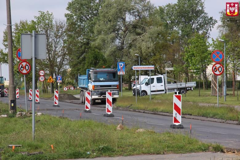 Przebudowa ul. Górniczej w Inowrocławiu już ruszyła