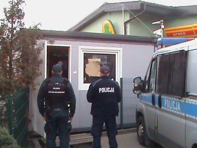 Nielegalny salon gier ukryty w myjni samochodowej [WIDEO]
