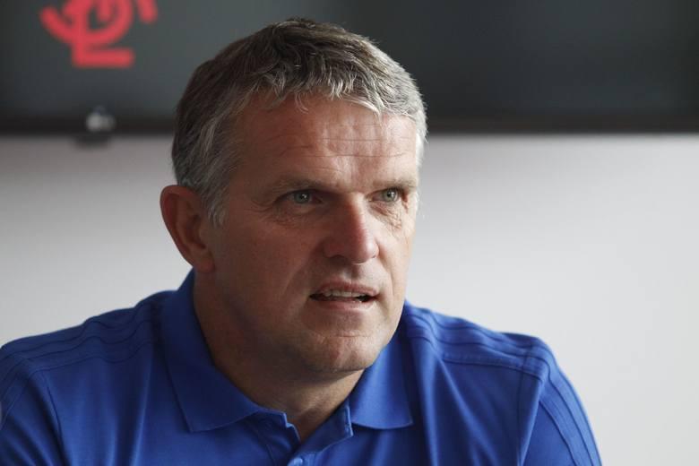 Piłkarska pierwsza liga. Trener ŁKS poglądał GKS Jastrzębie