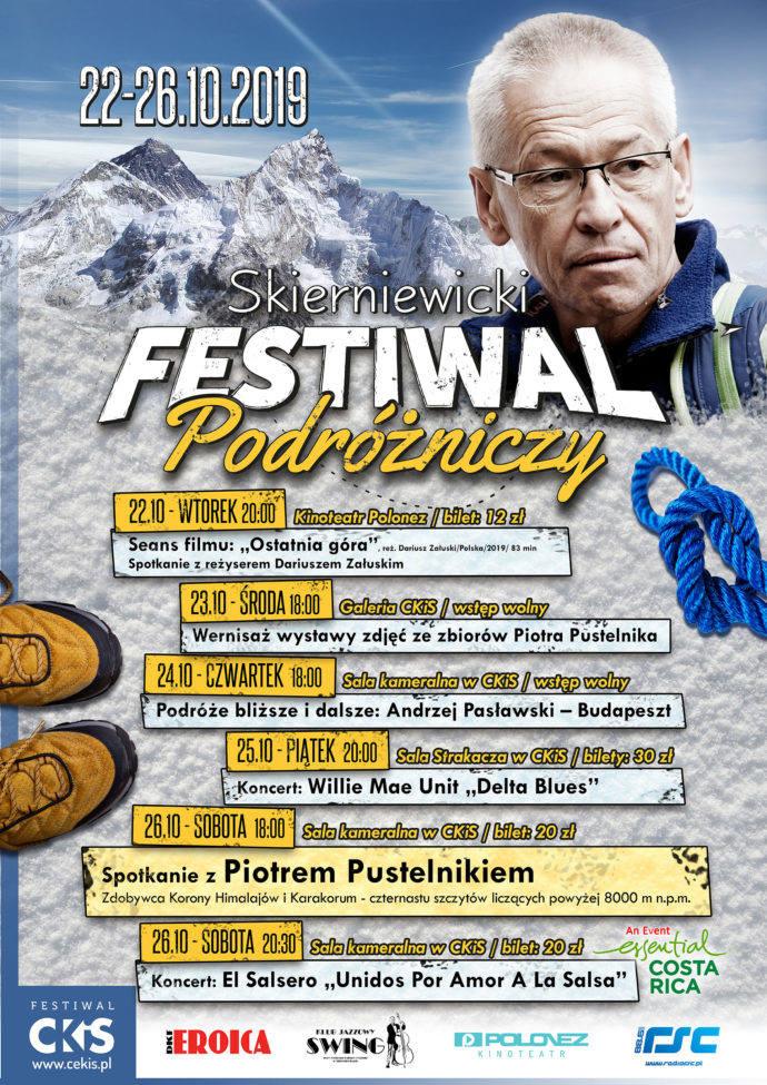 Jesień w mieście: Skierniewicki  Festiwal Podróżniczy