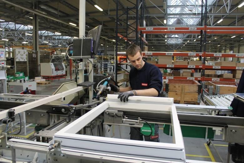 Dziś namysłowska fabryka zatrudnia około 640 osób. (fot. Jarosław Staśkiewicz)