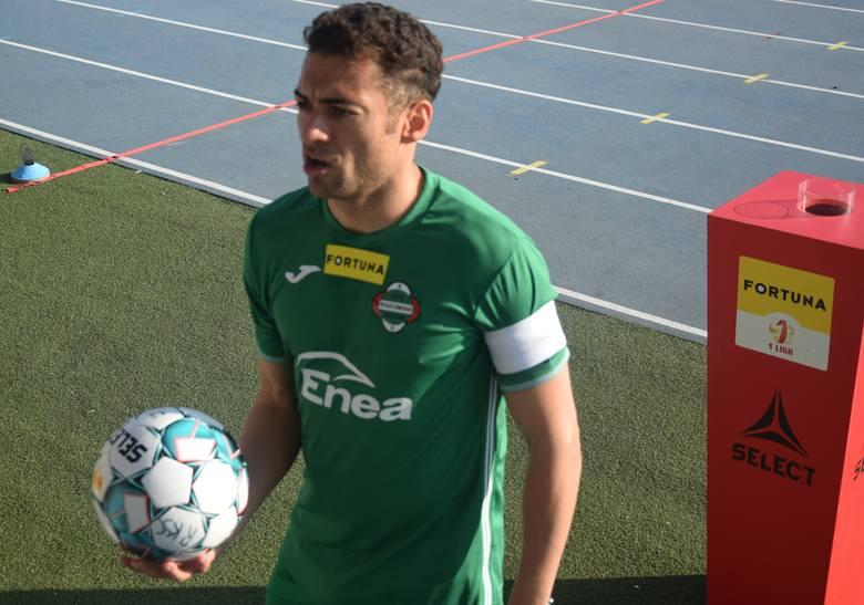 W zaległym meczu 24 kolejki, Fortuna 1 Liga, Radomiak Radom przegrał z Bruk-Bet Termaliką Nieciecza.Radomiak - Bruk-Bet Termalika 0:1 (0:1)Bramka: 0:1