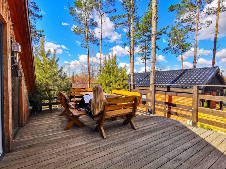 WILD FOREST - Całoroczne  domki do wynajęcia na Kaszubach blisko natury