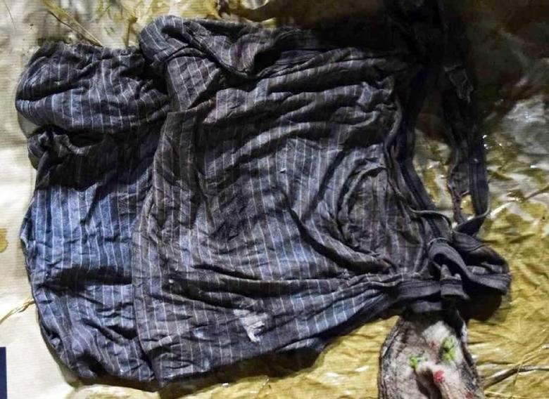 Rzeczy znalezione przy zamordowanym dziecku, 18 czerwca 2018 r.