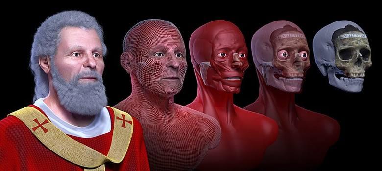 Jak mógł wyglądać święty Walenty? Rekonstrukcja twarzy na podstawie historycznych szczątków czaszki. Źródła wymieniają aż 16 świętych o tym imieniu.