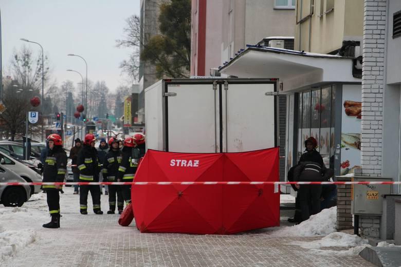 Śmiertelne potrącenie na ul. Marii Skłodowskiej-Curie w Białymstoku