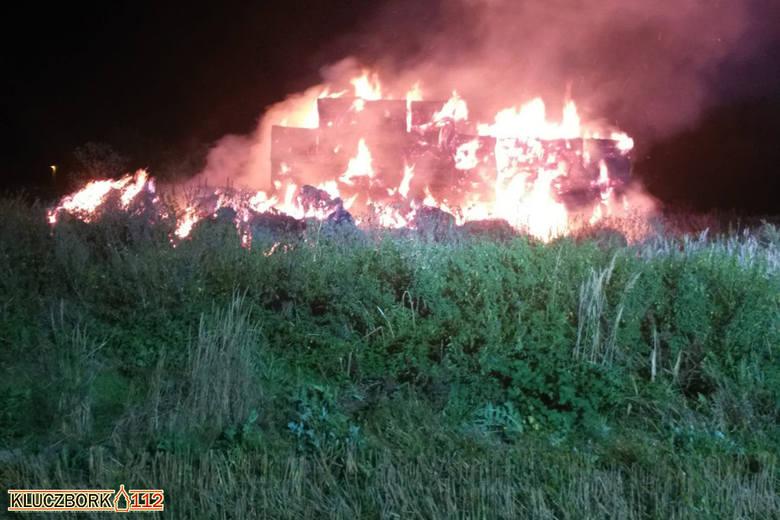 Pożar w Brynicy