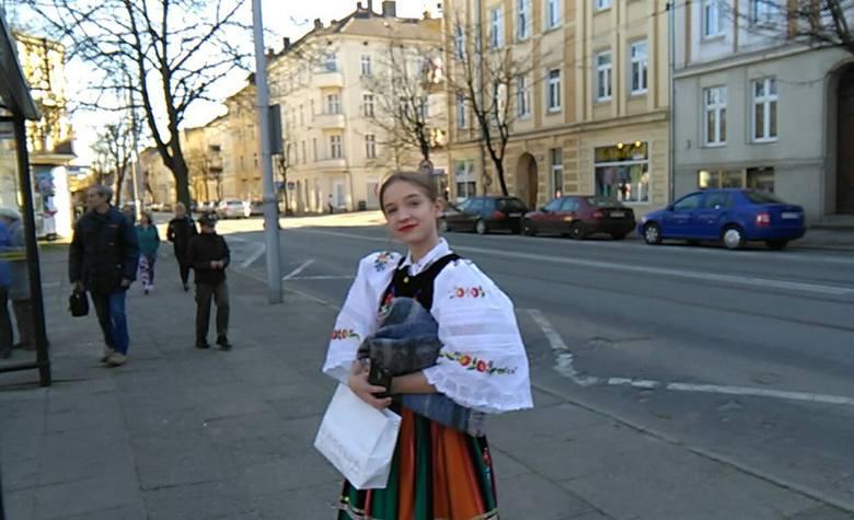 Zespół Tańca Ludowego Mali Gorzowiacy wykona dla prezydenta m.in.tańce z regionu łowickiego