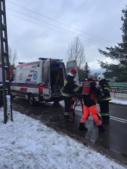 W sobotę po godz. 12 doszło do zderzenia dwóch pojazdów. Wypadek miał miejsce w Wasilkowie.