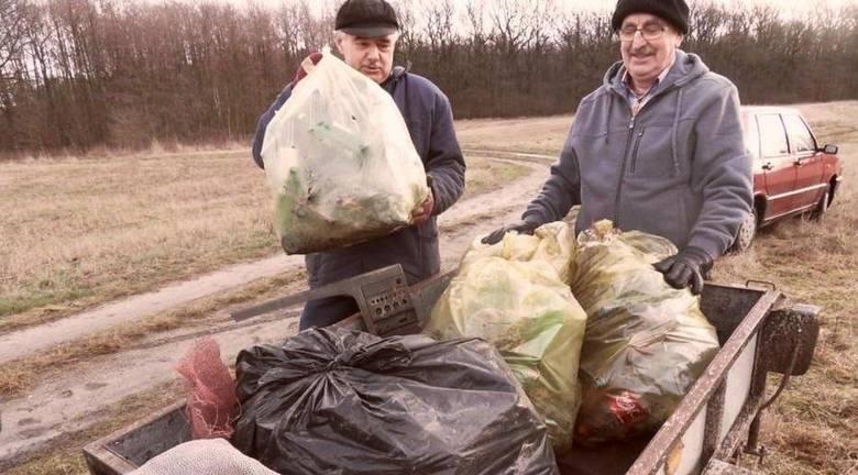 Wędkarze z Koła PZW Krapkowice przystąpili do wykonywania prac na łowiskach.