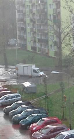 ulica Marysińska w Łodzi