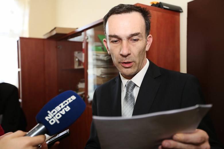 Waldemar Gorzycki, dyrektor Krajowego Biura Wyborczego w Szczecinie