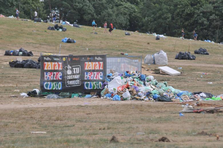 Dwa tygodnie ma wynajęta przez organizatora PolAndRock Festiwalu firma na posprzątanie terenu imprezy. Pracę ekip sprzątających będzie kontrolować miasto.-