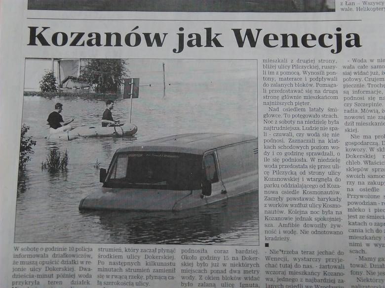 Powódź we Wrocławiu: Tak było 14 lipca 1997 r. [ZDJĘCIA]