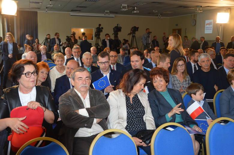 Konwencja wyborcza Koalicji Europejskiej w Opolu.
