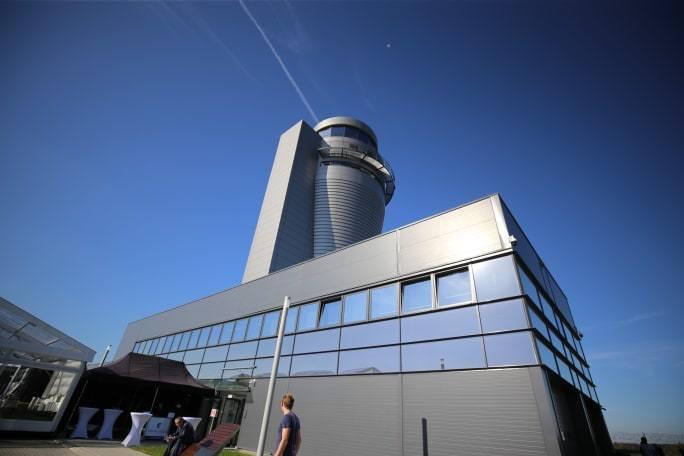 Nowa wieża kontroli lotów w Pyrzowicach