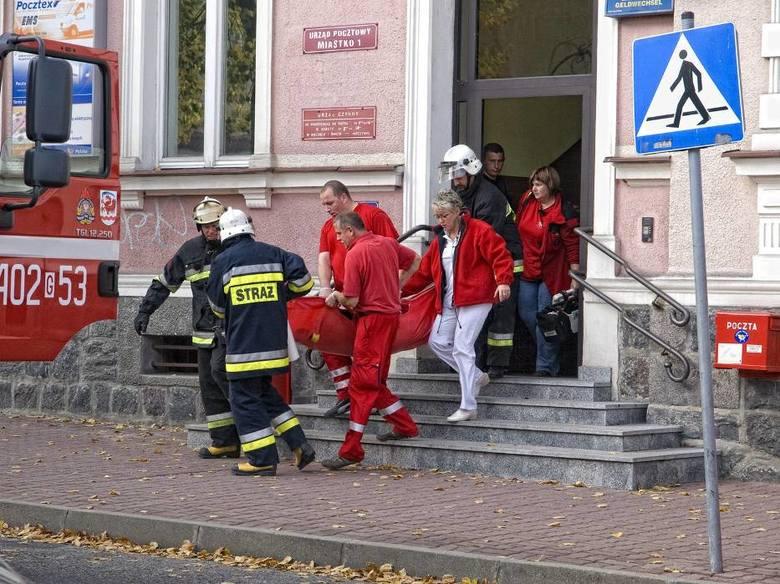 Terrorysta napadł na pocztę w Miastku. Tak służby ćwiczyły 10 lat temu