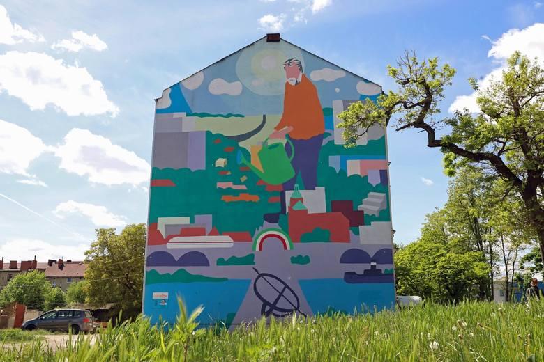 Można stwierdzić, że Gorzów muralami stoi. W ostatnich latach pojawia się ich coraz więcej, a mieszkańcom ten pomysł na ozdabianie budynków przypadł