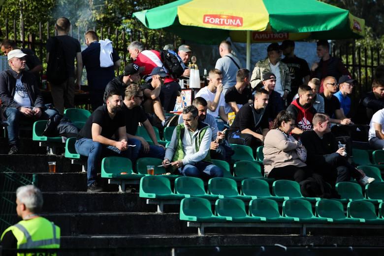 Kibice Garbarni i GKS-Katowice na drugoligowym meczu w Krakowie [ZDJĘCIA]