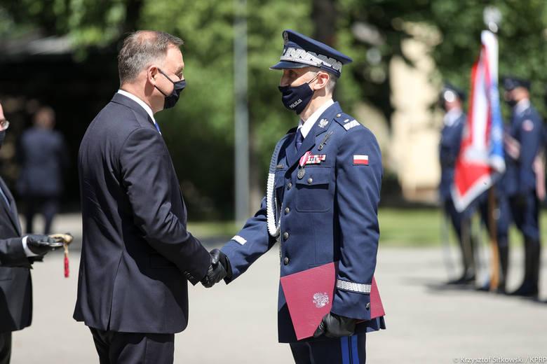 Komendant Wojewódzki Policji w Białymstoku nadinsp. Robert Szewc został mianowany generałem przez Prezydenta RP (zdjęcia)