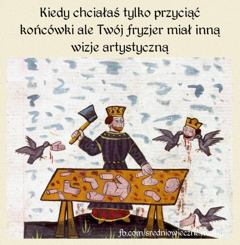 Średniowieczne memy, czyli obrazy sprzed wieków ze współczesnym komentarzem. Profil Średniowieczne memy robi furorę na Facebooku. Na każdy nowy wpis