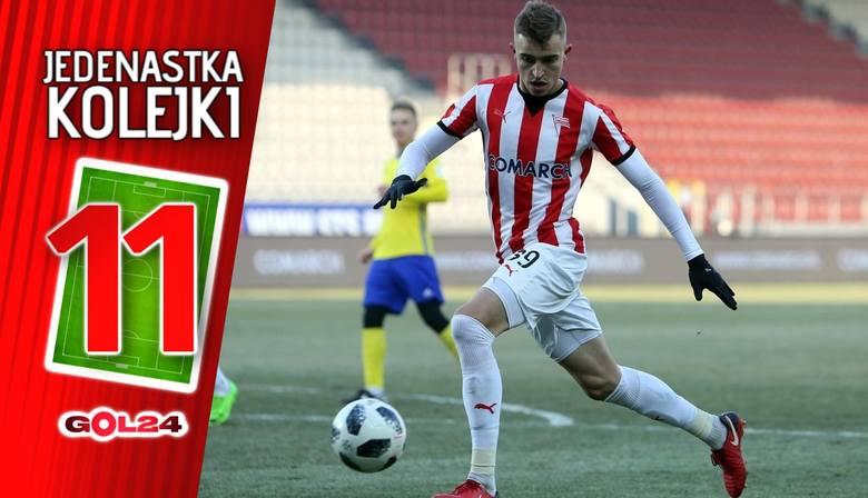 Jedenastka 26. kolejki Lotto Ekstraklasy według GOL24 [GALERIA]
