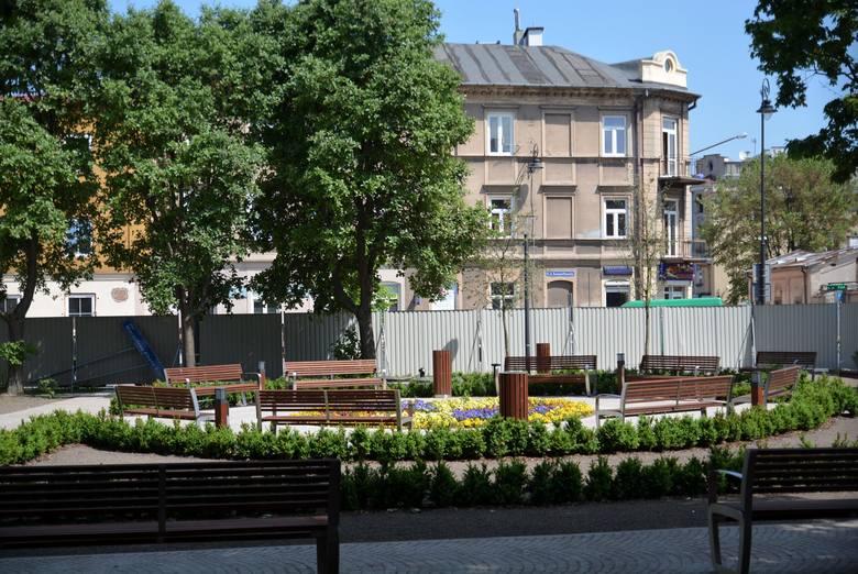 Na pl. Litewskim zieleń przegrała z betonem