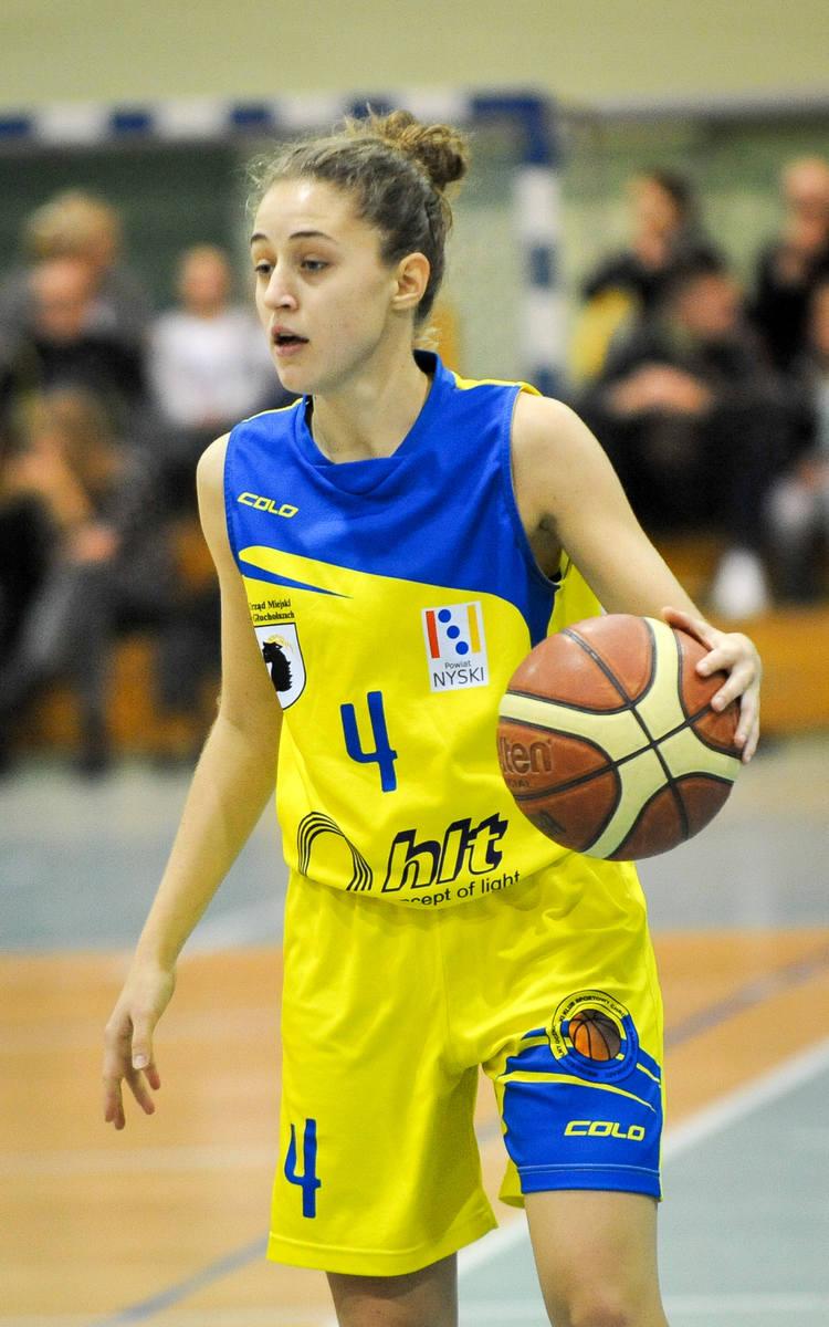 Rozgrywająca drużyny Chrobrego Anna Pelc.