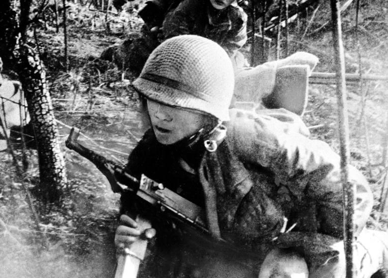 Wietnamscy żołnierze licznie służyli także w armii francuskiej. Oto jeden z nich