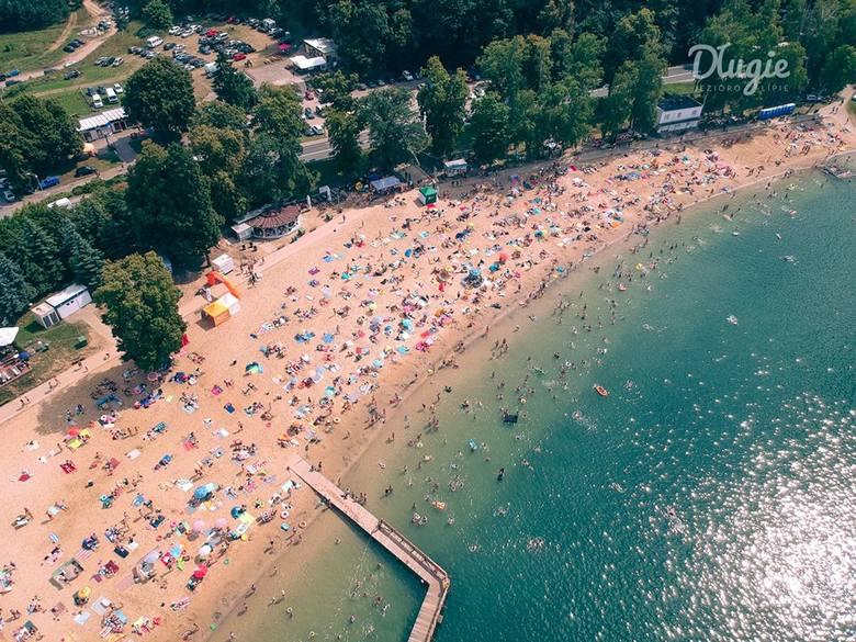 Na plaży w Długiem za 80 tys. zł powstaje minikompleks sportowo - wypoczynkowy. Ale to nie koniec nowości. Jeszcze w kwietniu - przed sezonem - zmieni