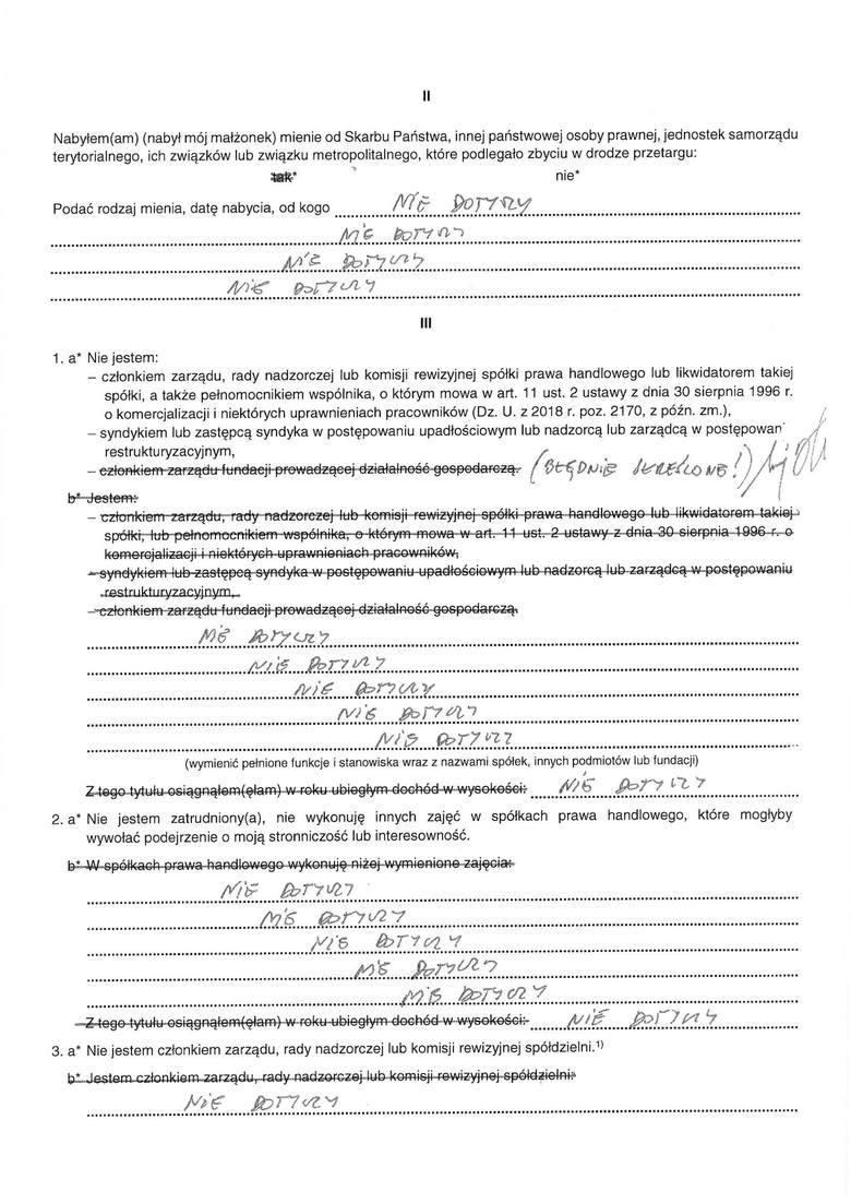 Oświadczenie majątkowe prezydenta Andrzeja Dudy. Ponad 250 tys. zł majątku, dwa mieszkania, działka i kredyt na 497 tys. zł