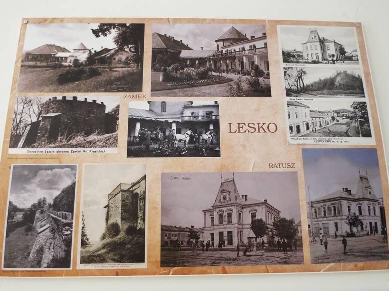 Wybierając się w Bieszczady, warto zatrzymać się w Lesku i odwiedzić galerię Synagoga, wystawa prezentuje archiwalne fotografie z życia Leska sprzed