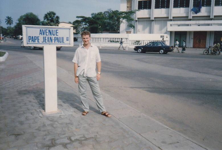 W Kotonu (Benin) jest ulica papieża Jana Pawła II