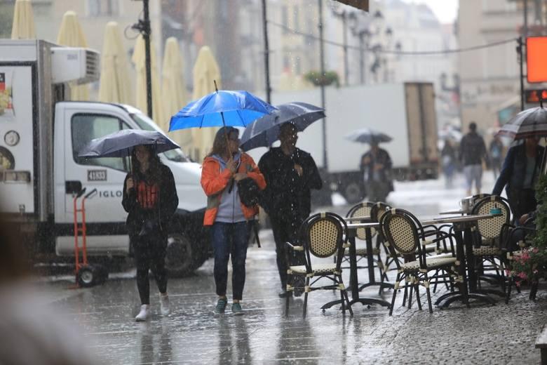 Toruń pod wodą. Jak walczyć z ulewnymi deszczami? Ogrody deszczowe i inne pomysły na wodę w mieście