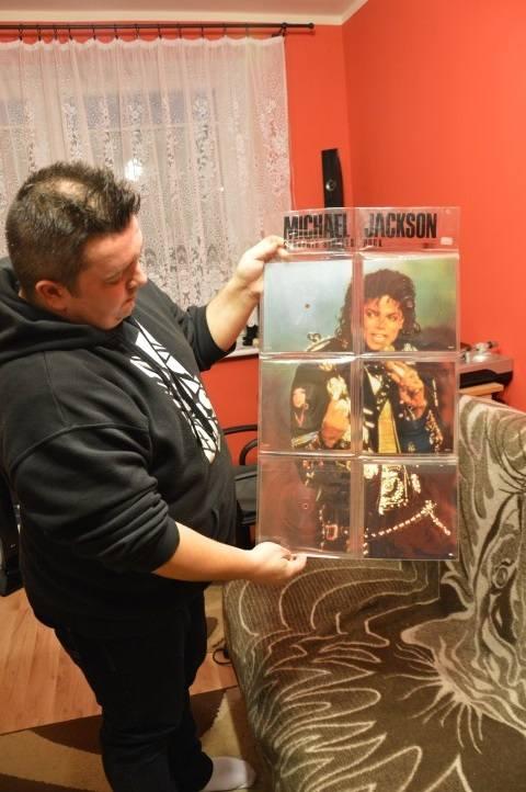 Patryk Łukaszuk, kolekcjoner pamiątek: Michael to było dla mnie takie WOW! [ZDJĘCIA, WIDEO]