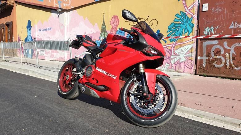 Ducati 1199 Panigale,, 2013 r.