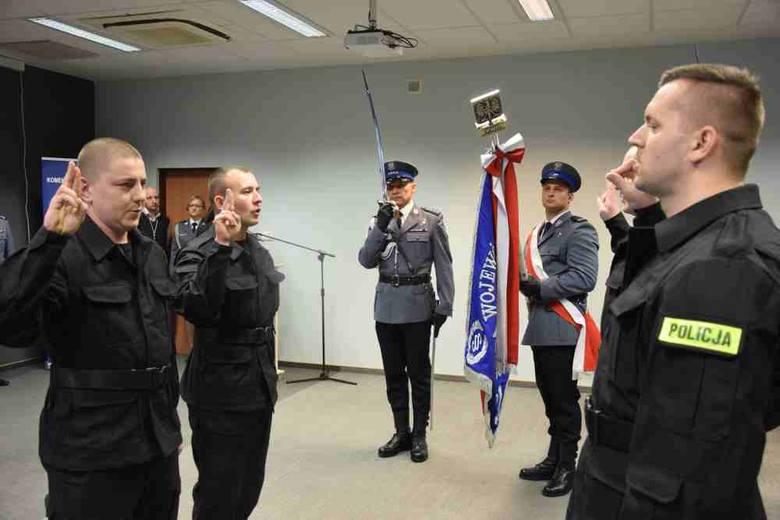 W piątek 11 marca w komendzie wojewódzkiej policji w Gorzowie ślubowanie złożyło 33 nowych policjantów, w tym 10 kobiet. Po odbyciu szkolenia podejmą