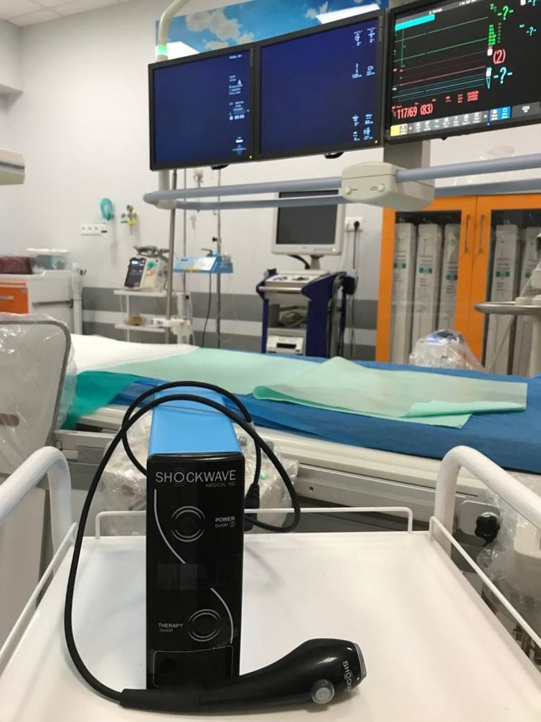 Lekarze ze sztumskiego oddziału kardiologii przeprowadzili unikalny zabieg w tętnicy wieńcowej [zdjęcia]