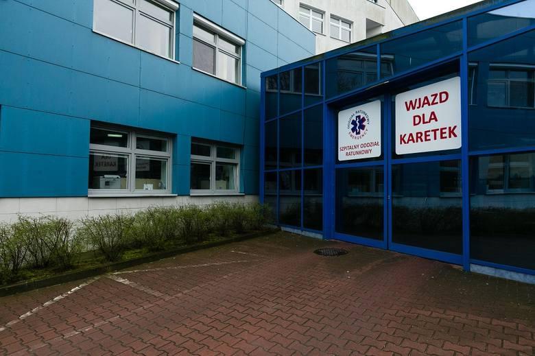 Szpitalny Oddział Ratunkowy w szpitalu wojewódzkim w Szczecinie [ZDJĘCIA]
