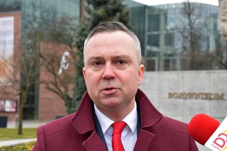 Piotr Woźniak, lider SLD w woj. opolskim