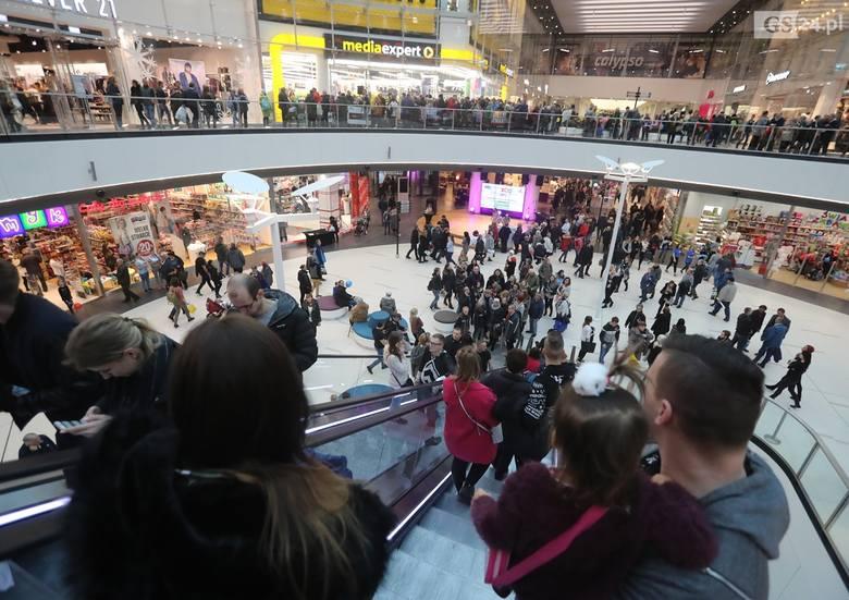 Otwarcie nowej części Centrum Handlowo-Rozrywkowego Galaxy w Szczecinie