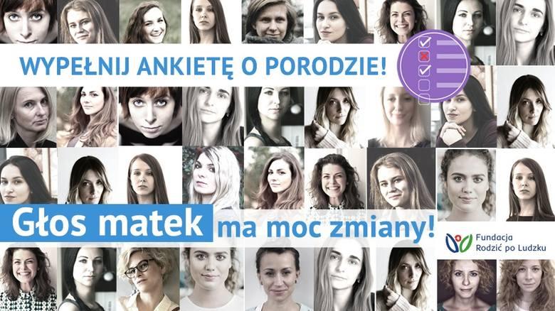 """Polki wypełniają ankietę o swoich doświadczeniach na porodówkach –  ruszyła akcja """"Głos matek ma moc zmiany"""". Każdy głos ma znaczenie!"""